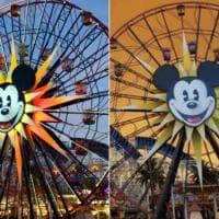 Incendi in California, il cielo diventa arancione: Disneyland è irriconoscibile