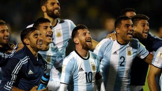 Argentina, Messi fa il miracolo: qualificazione a spese dell'Ecuador