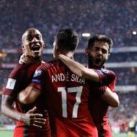 Qualificazioni Mondiali, ridono Portogallo e Francia. Svizzera, Svezia e Grecia al playoff