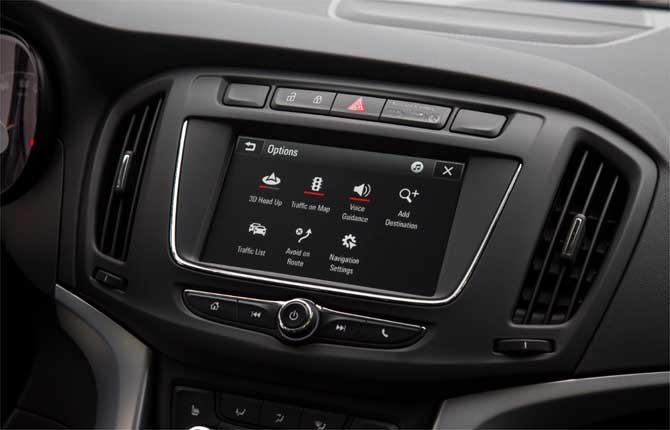 Opel Zafira, sempre connessa con Navi 4.0 IntelliLink