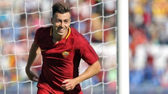"""Roma, El Shaarawy salta il Napoli. Nainggolan ci crede: """"Possiamo vincere"""""""