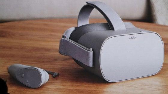 Facebook ci riprova. Arriva Oculus Go, il visore per la realtà virtuale low cost