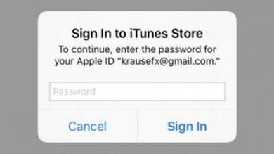 Phishing su iPhone e iPad: attenzione  ai pop-up che rubano le password