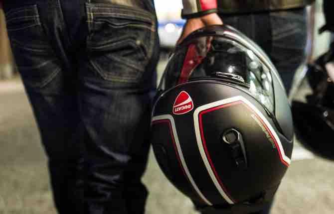 Vecchio casco addio, parte la campagna Ducati