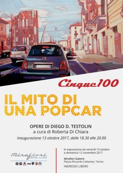 """La mostra """"Cinque100"""" alla Mirafiori Galerie di Torino"""