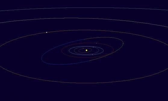 Un asteroide di nome Luca: l'omaggio a Parmitano