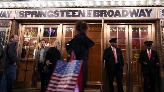 Springsteen a Broadway, all'asta per beneficenza due biglietti di prima fila