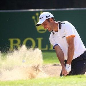 Golf, Open d'Italia: Molinari parte col piede giusto, è subito in vetta