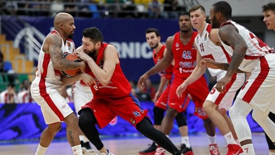 Basket, Eurolega: Milano spaventa il Cska, poi viene rimontata e cede