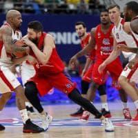 Basket, Eurolega: Milano spaventa il Cska, poi viene rimontato e cede
