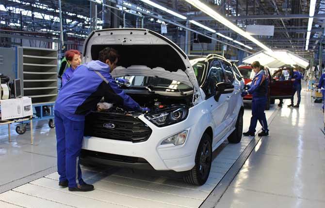 Ford Ecosport Al Via La Produzione Europea La Repubblica