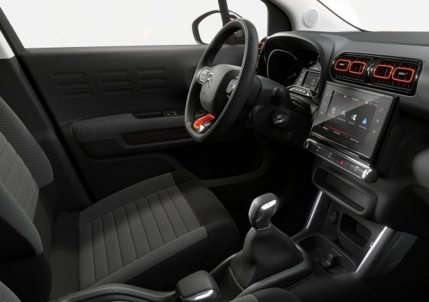 foto citroen c3 aircross interni. Black Bedroom Furniture Sets. Home Design Ideas