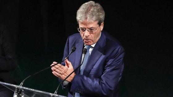 """Ius soli, Gentiloni: """"Impegno per approvarlo in questa legislatura"""""""