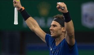 Tennis, finale Nadal-Federer a Shanghai. Errani ko a Tianjin
