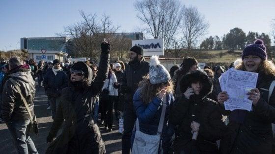 Almaviva sospende i trasferimenti da Milano a Rende