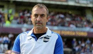 """Sampdoria, Giampaolo: """"Con l'Atalanta per capire chi siamo"""""""