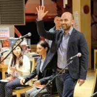 Roberto Saviano a Roma con 'Bacio feroce': incontro con i lettori su ius soli e diritto alla legalità