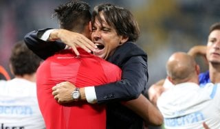 """Lazio, Inzaghi: """"Abbiamo fatto un'impresa storica"""""""