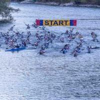 Adigemarathon 2017, la festa della canoa parla tedesco