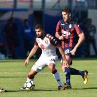 Crotone-Torino 2-2, De Silvestri nel recupero evita il ko ai granata