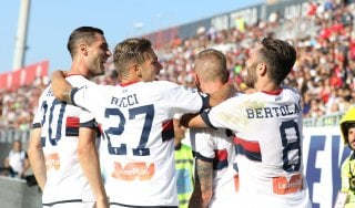 Cagliari-Genoa 2-3: Juric scaccia gli incubi, Rastelli ora rischia