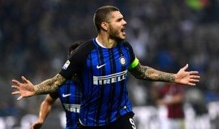 Inter-Milan 3-2: Icardi show, nerazzurri secondi a -2 dal Napoli