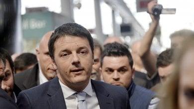 """La festa per 10 anni Pd. Renzi """"Sarà un corpo a corpo con il centrodestra""""   video"""