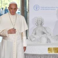 Papa Francesco alla Fao, contro la fame affrontare le guerre e il cambio clima