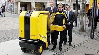 PostBot, il postino robot fotoin Germania è già realtà