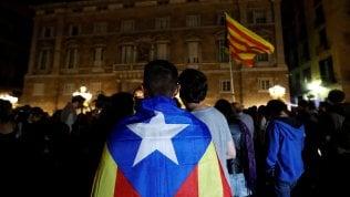 Arrestati per sedizione2 leader indipendentisti.Puigdemont chiede tempo per il dialogo: no di Rajoy