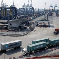 Cresce il commercio italiano con l'estero, il surplus sale a 2,8 miliardi