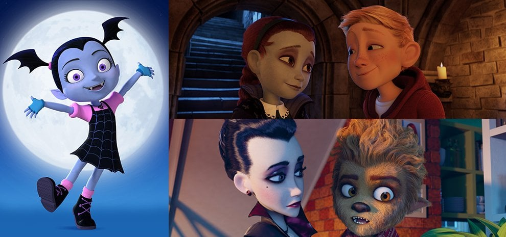 Aspettando Halloween, al cinema e in tv arrivano i vampiri cartoon