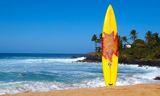 Dalle Hawaii alla Sardegna, a ritmo di surf