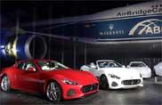 Maserati show in Giappone per GranTurismo e GranCabrio