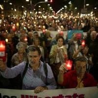 Catalogna, duecentomila in piazza contro l'arresto dei due leader indipendentisti