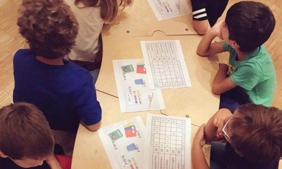 Laboratorio redooc.com per bambini della scuola primaria sull'educazione finanziaria.