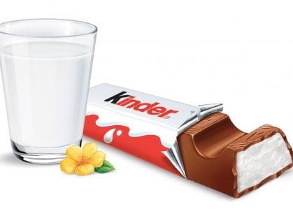 Non solo barrette e merendine, Kinder cioccolato diventa gelato
