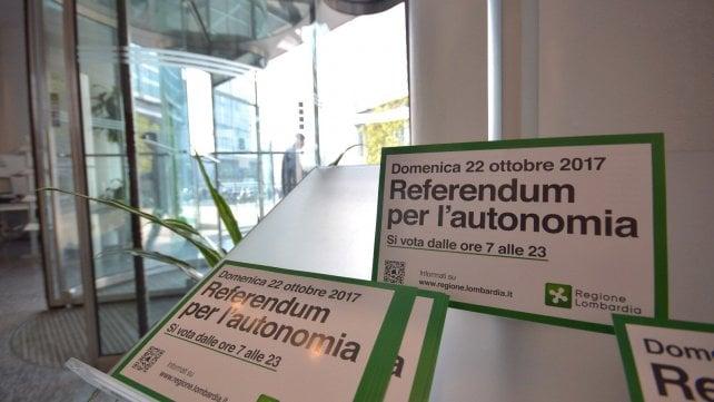 Referendum per l'autonomia, Lombardia e Veneto al voto