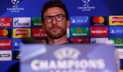 """Di Francesco: """"Chelsea?  Non firmerei per il pari..."""""""