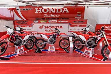 RedMoto Honda CRF Enduro, svelata la gamma 2018