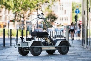 Il mondo visto attraverso gli occhi di un'auto a guida autonoma
