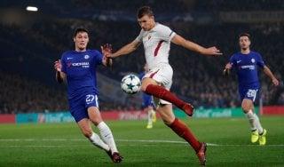 Chelsea-Roma 3-3: super Dzeko, i giallorossi sfiorano l'impresa