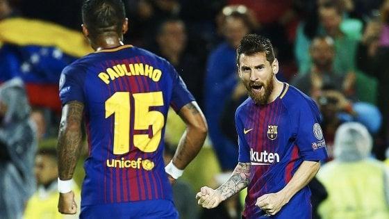 Champions: passo falso Atletico. Barcellona, PSG e Bayern non sbagliano