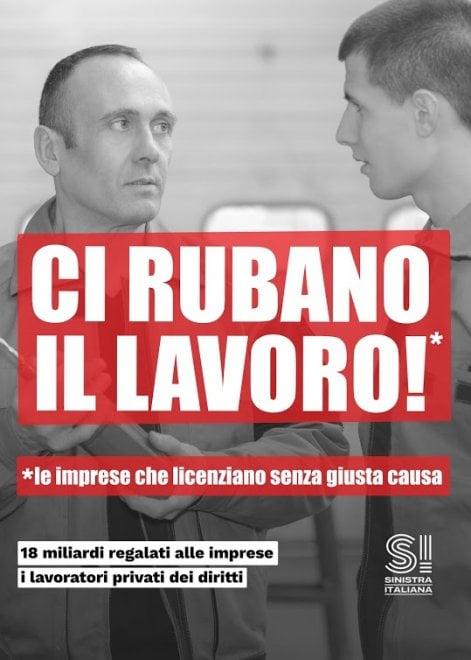 """""""Ci rubano il..."""". Sinistra italiana rovescia i luoghi comuni sugli immigrati"""