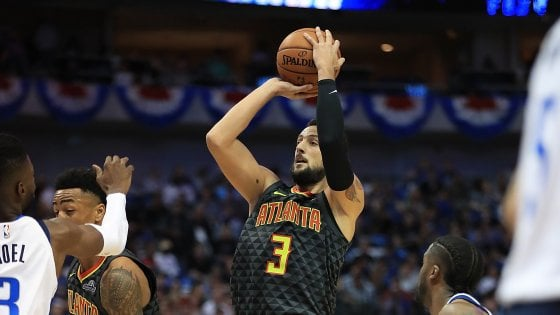 Basket, Nba: Atlanta sbanca Dallas, Belinelli debutta con 20 punti