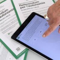 Referendum, domenica Lombardia e Veneto al voto sull'autonomia