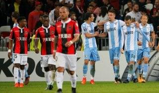 Nizza-Lazio 1-3: Caicedo e Milinkovic, i biancocelesti continuano a volare