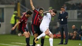 Diretta E. League, Milan-Aek 0-0Atalanta-Apollon Limassol 1-0