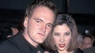 Tarantino con Mira Sorvino