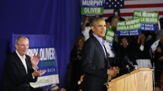 """Usa, Obama torna in tournée elettorale: """"America sveglia: respingiamo la politica della paura"""""""